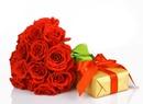 Amour-roses rouges-cadeau