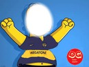 HOMERO SIMPSONS BOCA JUNIORS