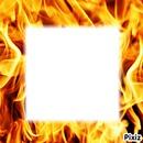 Les flammes!