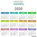 calendrier espagnol