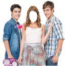 Violetta, Leon y Tomas