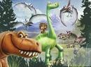 una gran dinosaurio