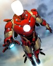 montage photo iron man