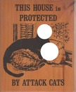 attack cats warning sign-hdh2