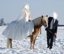 mariage a cheval