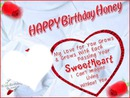 HAPPY BDAY SWEETHEART