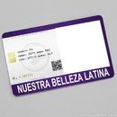 Nuestra Belleza Latina Card