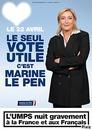 Votez Marine Le Pen