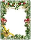 Cadre Noel perles