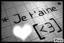 je t'aime <3