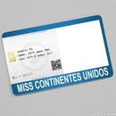 Miss Continentes Unidos Card