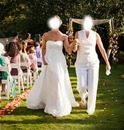 mariage entre 2 femmes