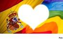 drapeau lesbien + espagne