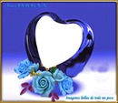 corazon morado