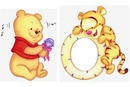 tiger and pooh mirror