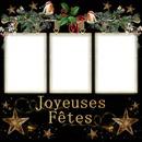 3 photos Joyeuses Fêtes Noël iena