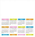 calendario en español 2016