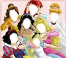 Princesses Disney Grimaces 7 visages