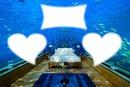 chambre sous l'eau
