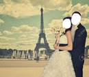 Mariage , tour eiffel