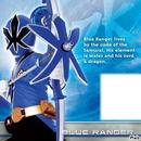 blue ranger samurai