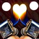la flamme de l'amour
