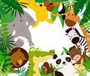 animalitos selva