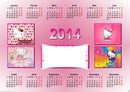 calendrier Hello Kitty
