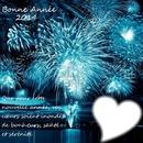 bonne  année bleu