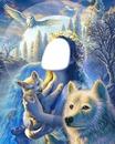 les loups la nuit