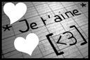 * Je t'aime * [<3]