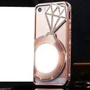 celular rosa + diamante
