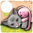 lapin et chat
