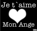 je t'aime Mon Ange