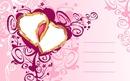 carte postal coeur