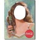 Femme coca cola 2