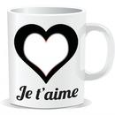 tasse je t'aime