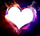 coeur enflamé