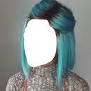 Mavi saç