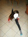 la gymnastique de fille