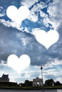 hearts in the sky