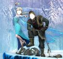 Frozen: Elsa y Kristoff