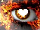oeil en feu