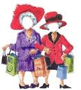 femmes aux chapeaux