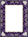 cadre violet or