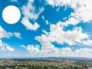 Le ciel bleu à Shawinigan