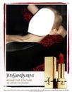 Yves Saint Laurent Rouge Pur Couture Ruj Afiş Sahne Yüz