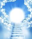 luto escalera hacia la eternidad