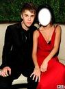 Cadre Justin bieber & Selena gomez