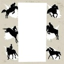 HORSE BRONC FRAME 1